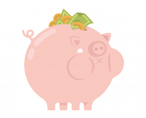 Savings full piggy -cropped- wb