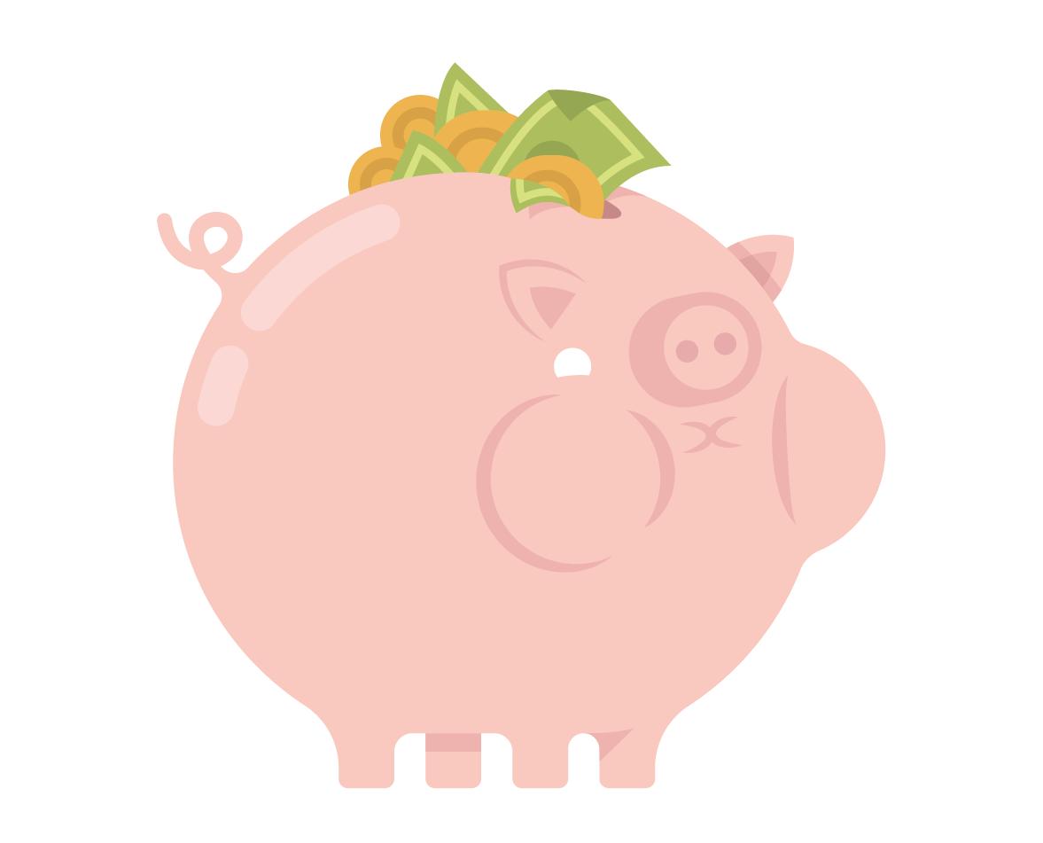 Savings full piggy -cropped- wb