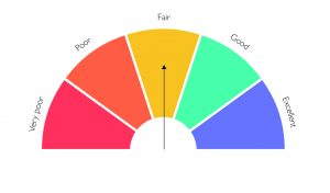 Credit rating infographic