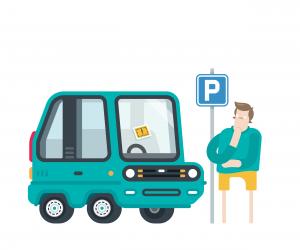 Grad Car - parking