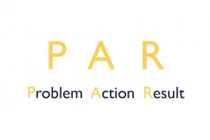 PAR Problem Action Result