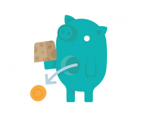 teal-piggy-bank-coin-falling-out-white-backgd-cropped