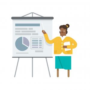 Presentations illustration
