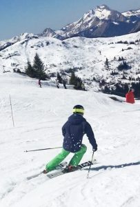 Bruce McKendrick Skiing