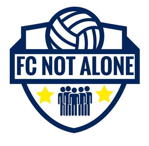 F.C. Not Alone logo