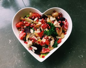 warming winter salad