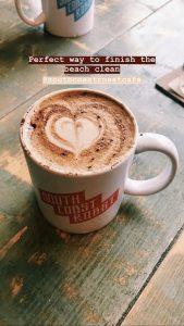 Coffee at South Coast Roast Cafe