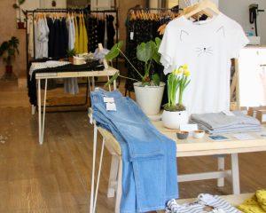 Inside Sancho's ethical fashion shop