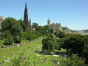 Edinburgh Princes Street Gardens