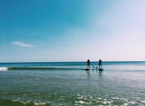 Paddleboarding, Bournemouth