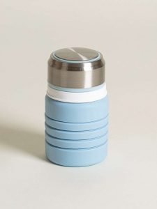 Collapsible water bottle 2 - collapsed