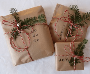 Eco-wrapping - Green & Growing
