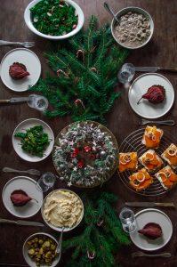 Vegan Christmas Dinner - Velvet & Vinegar