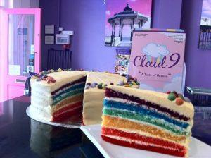 Cloud 9 Rainbow cake