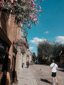 Oxford streets