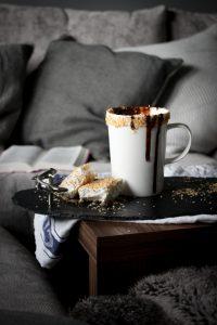 Hygge coconut hot chocolate