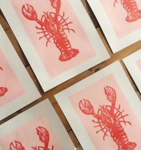 Cassie lobster illustration