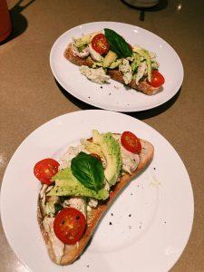 Chicken Basil Mayo Sandwich