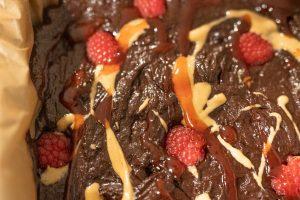 Brownies close-up
