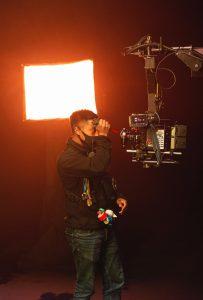 Film camera man