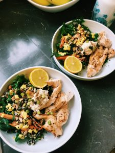 Lemon Chilli Chicken Lunch