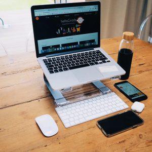 WFH desk
