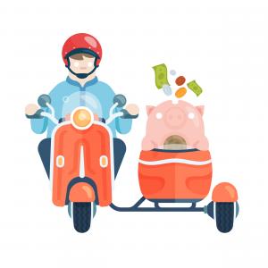 Side hustle - bike & sidecar