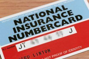 National Insurance card